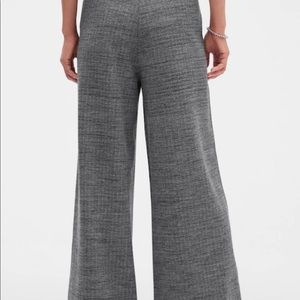 🍁Banana Republic Wide-Leg Knit Pants NWT🍁